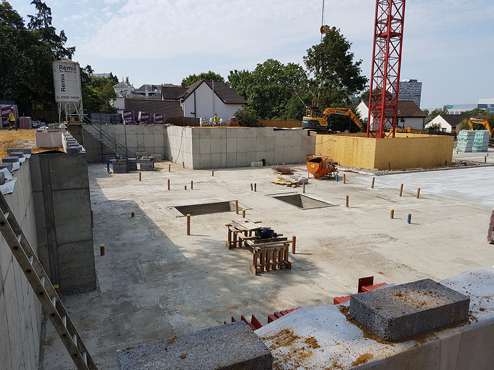 First phase groundworks Bracknell