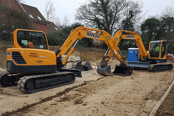 Construction Services - Plant Hire