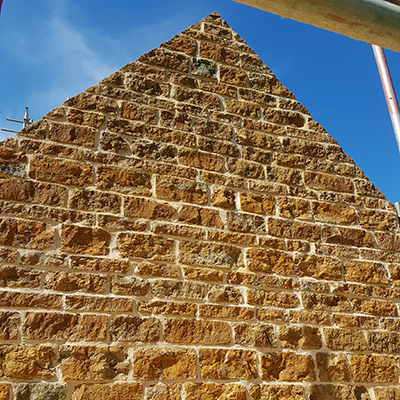 masonry close up
